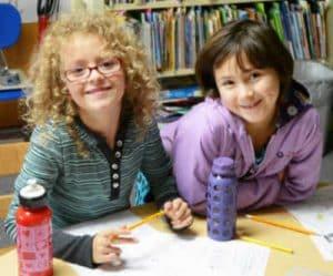 Living Wisdom School Children doing holistic learning in Portland Oregon schools