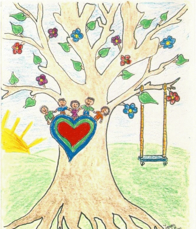 drawing of tree