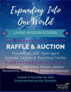 Fundraising event in Portland Oregon for a holistic alternative school