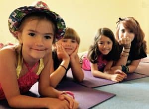 Yoga day camp children ages 6 and up each summer at the living wisdom school in portland, oregon